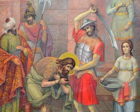 Вспоминаем Усекновение главы Иоанна Предтечи