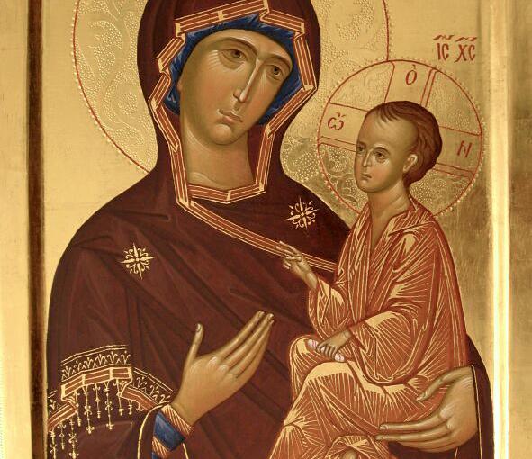Память Тихвинской иконы Божией Матери